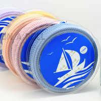 DIY 3mm Silk gewinde milan cord Schmuck & verpackung & schuhe seil Halsketten & Armbänder cords 49 farben 4 meter/rolle