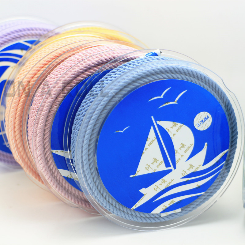 DIY 3mm Silk thread milan cord Jewelry & packing & shoes rope Necklaces & Bracelets cords 30colors No.16-33color 4meters/roll