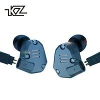 KZ ZS6 Bluetooth 2DD 2BA Hybrid In Ear Earphone HIFI DJ Monito Running Sport Earphone Earplug