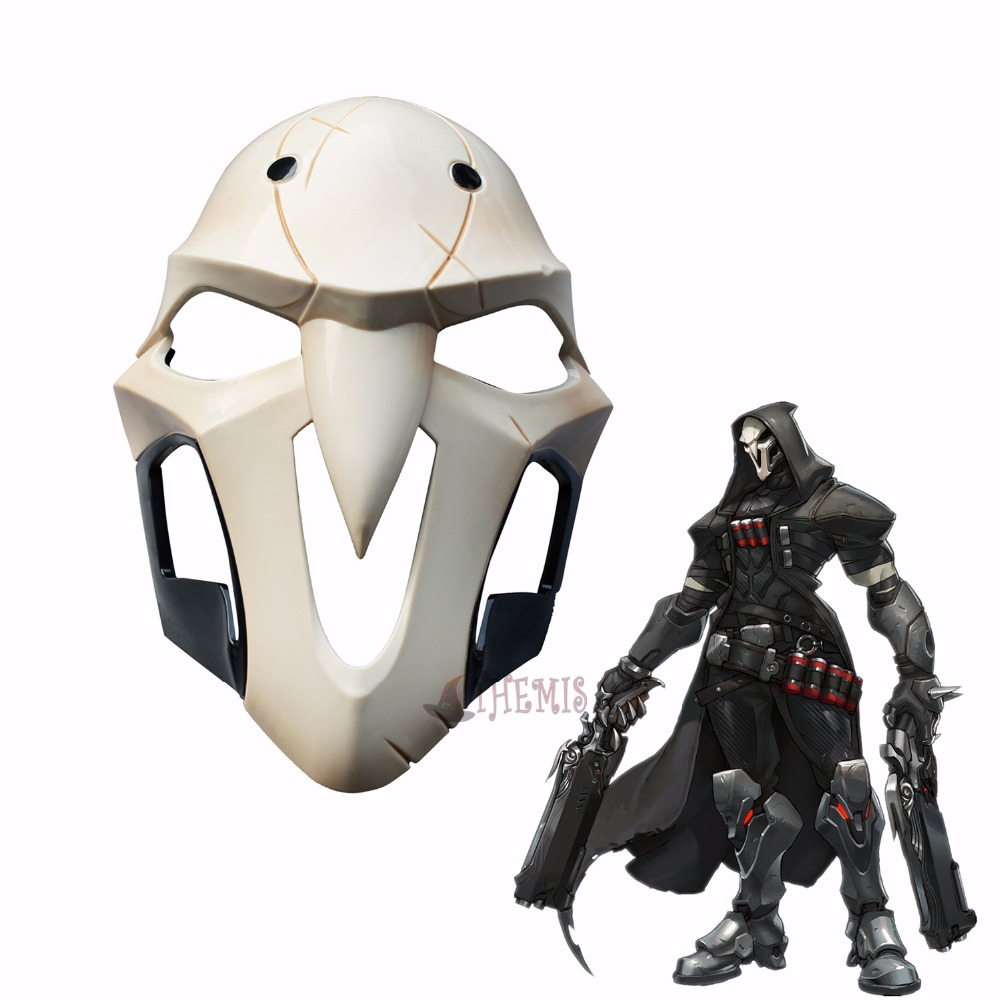 Athemis  Reaper cosplay Mask High quality and same as original Game cosplay