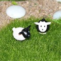 Cute MINI Dollhouse Miniature Furniture accessories Meadow sheep
