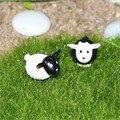 Lindo MINI Muebles de casa de Muñecas En Miniatura accesorios Prado ovejas