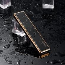 Portable USB Electric Cigarette Lighter Windproof Compact Mi