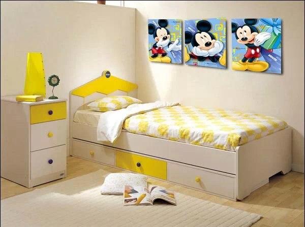 Mickey Mouse Cartoon Peinture Murale Photos Pour Chambre D Enfants