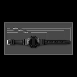 Image 3 - Relojes deportivos para hombre, marca SKMEI, relojes Chronos de goma para hombre, reloj Digital LED resistente al agua, reloj militar para hombre, reloj Masculino