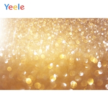 Yeele Golden Bling Light Bokeh Baby Pets Portrait Photography Background Customized Photographic Backdrops For Photo Studio