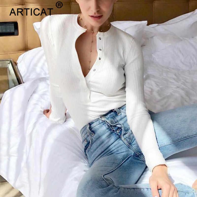Articat ребристый трикотажный сексуальный костюм в обтяжку женские осенние облегающие комбинезоны с длинными рукавами женский комбинезон s Повседневный обтягивающий комбинезон для вечеринки