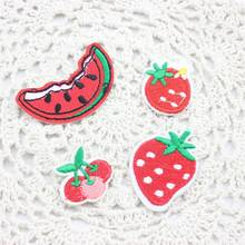 Four kinds of optional watermelon patch patches clothing embroidery iron on stitching accessories badge