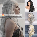 US/CN Location HOT SALE Women Cosplay Party Wig Inspired by Daenerys Targaryen Dragon Princess Game of Thrones Synthetic HAIR