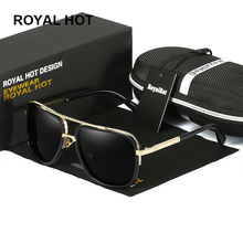RoyalHot Retro for Dropshipping Own US Warehouse Men Women Polarized UV400