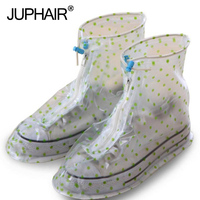 JUP Men Womens Rain Cover Shoes Accessories PVC Waterproof Shoes Cover Reusable Waterproof Overshoes Shoe Covers