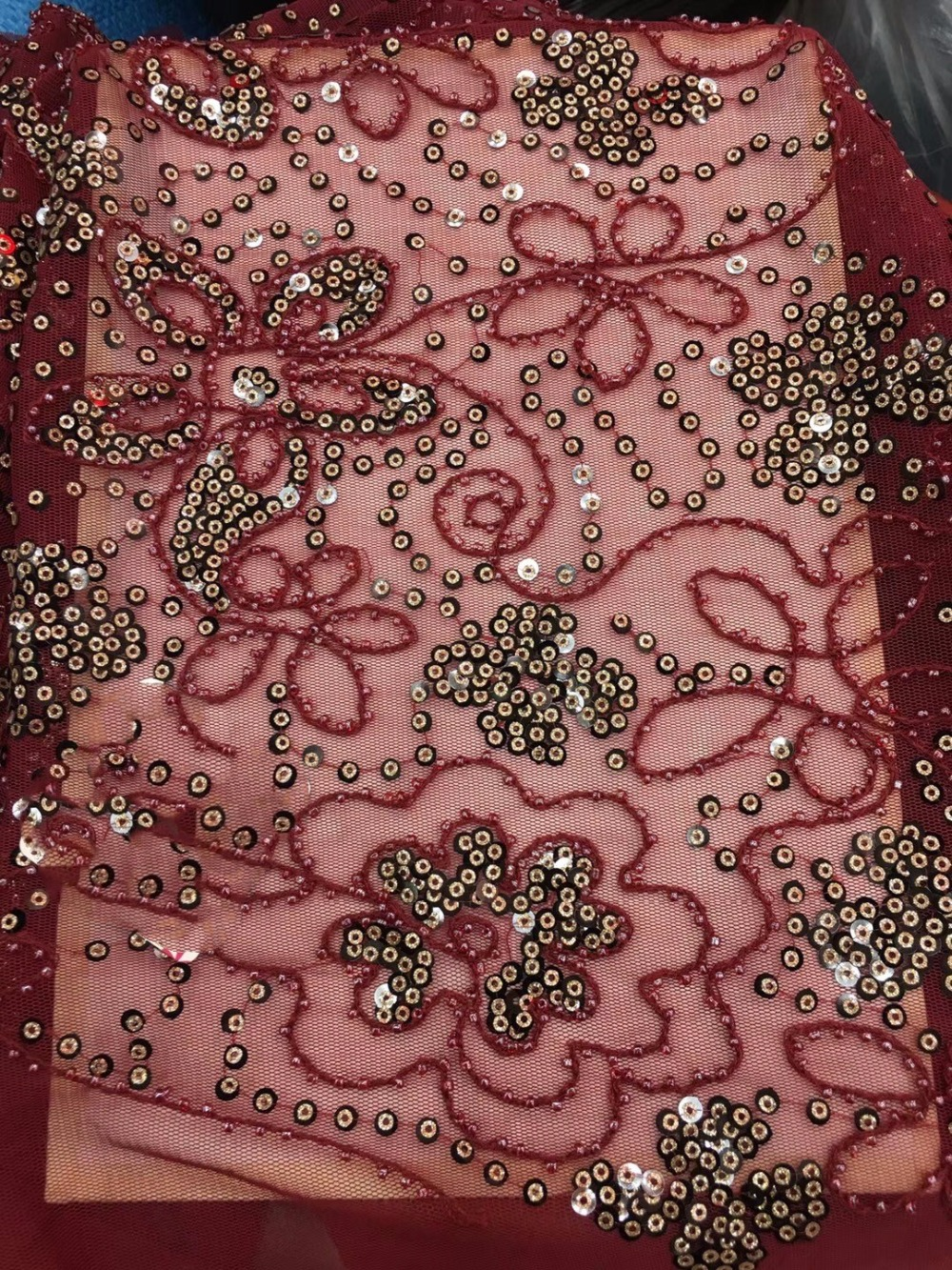 2018 New Design African Lace Fabrics High Quality with sequins Guipure Lace Fabric For Party Dress Nigerian Lace Fabric2018 New Design African Lace Fabrics High Quality with sequins Guipure Lace Fabric For Party Dress Nigerian Lace Fabric