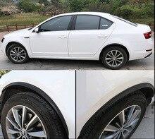 4pcs for SKODA KODIAQ Superb Octavia Car wheel eyebrow Anticollision bar decorate