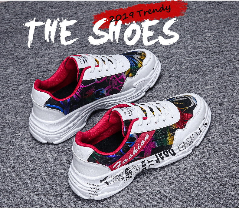 casual moda tênis graffiti apartamentos senhoras sapatos vulcanizados zapatos de mujer