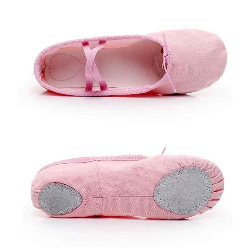 בד בלט Pointe נעלי התעמלות כושר נעלי בית לילדים ילדי תינוקת נעלי תינוק 2018 חדש הגעה אופנה נעליים