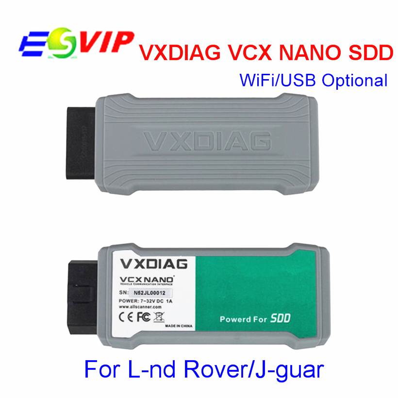 VXDIAG VCX NANO JRL For L/and R/ver//Ja/g/u/ar WIFI Scanner OBD2 Diagnostic Programming Coding Scanner VXdiag VCX NANO Tool latest allscanner vxdiag nano pro diagnostic tool for gm ford mazda vw toyota volvo jlr with dhl shipping