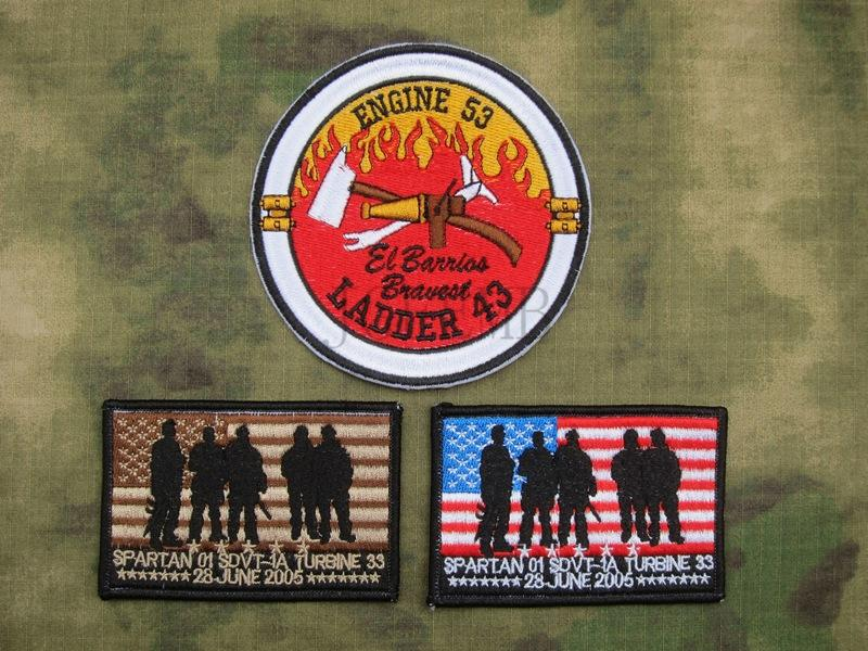 12cm Suit SEAL TEAM Operation Red Wings Lone Survivor mark Embroidery patch Badges