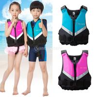 Kids Child Life Vest Jackets Boating Swimming Buoyancy Aid Survival Suit for Water Sports Drifting Surfing Water skiing Upstream