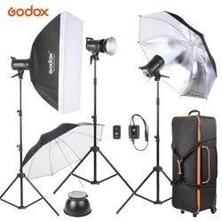 Godox SK300-D 3*300WS Studio Photo Strobe Flash Light Kit w/Light Stand Softbox Reflector Umbrella Flash Trigger Lamp Shade etc
