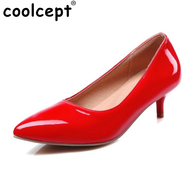 Size 30-45 Women Pointed Toe Thin High Heel Shoes Woman Fashion Shallow Mouth Heels Pumps Lady Sexy Party Wedding Footwear Shoes 2017 shoes woman fashion sweet bowtie pointed toe sexy women party shallow mouth side hollow women thin high heel shoes