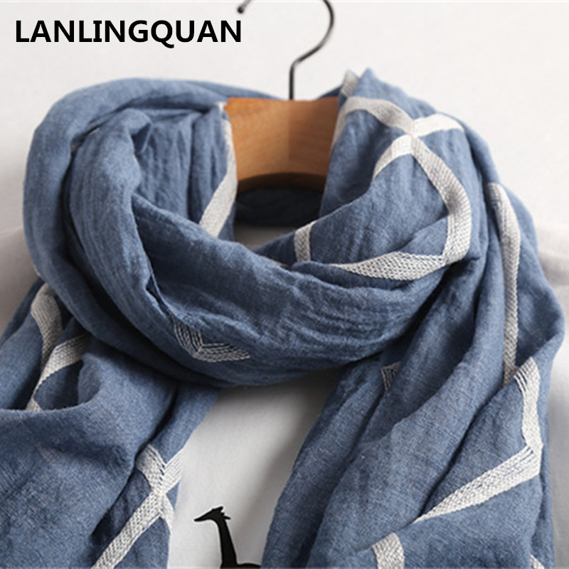 rivenditore di vendita 74ea4 1b89e US $7.64 11% OFF Desigual women scarf bandana Foulard luxury brand 2018  Fashion Hijab Autumn Winter cotton Vintage Scarfs European style scarves-in  ...