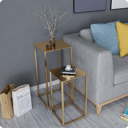 Us 142 49 5 Off Nordic Style Small Coffee Table Simple Mini Modern Living Room Sofa Corner Creative American Metal Side Table In Coffee Tables From