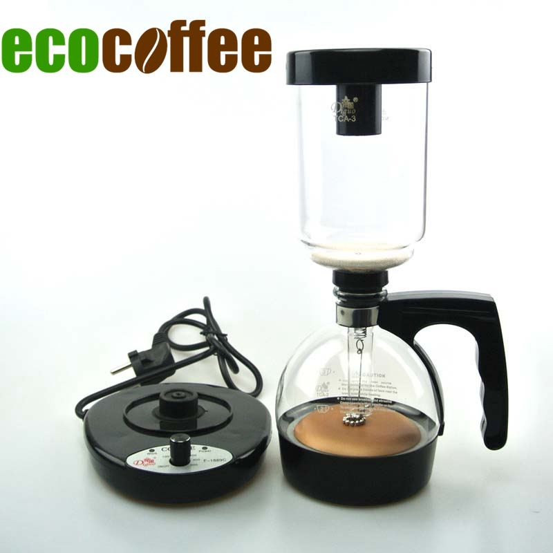 Household Glass Syphon Coffee Maker Siphon coffee maker for 3 cups DT 01