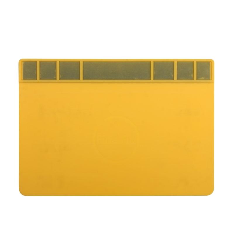 Large Size Heat-resistant Magnetic Silicone Mat Soldering Pad Insulation Pad BGA Heat Gun Maintenance Platform