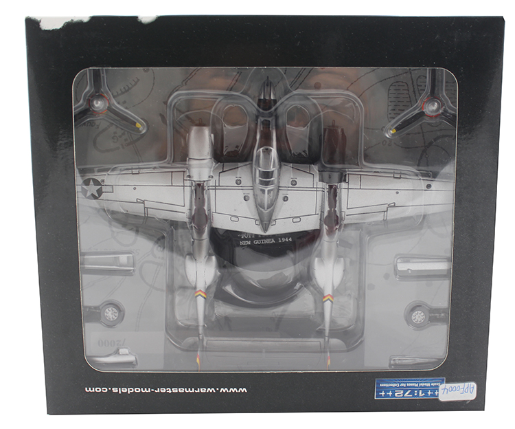 ФОТО Fine rare Warmaster 1:72 APF0004 World War II US Army p38 Lightning Fighter Alloy aircraft model Collection model Holiday gifts