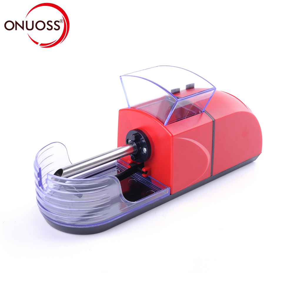 ONUOSS Rolling Machine Electric Automatic Cigarette Rolling Machine Tobacco Roller Maker Inject Tube 8mm Cigarette JL-033A