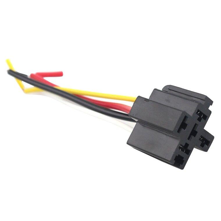 Car alarm wire harness black