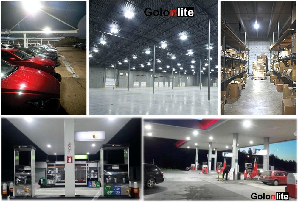 LED canopy lights applications