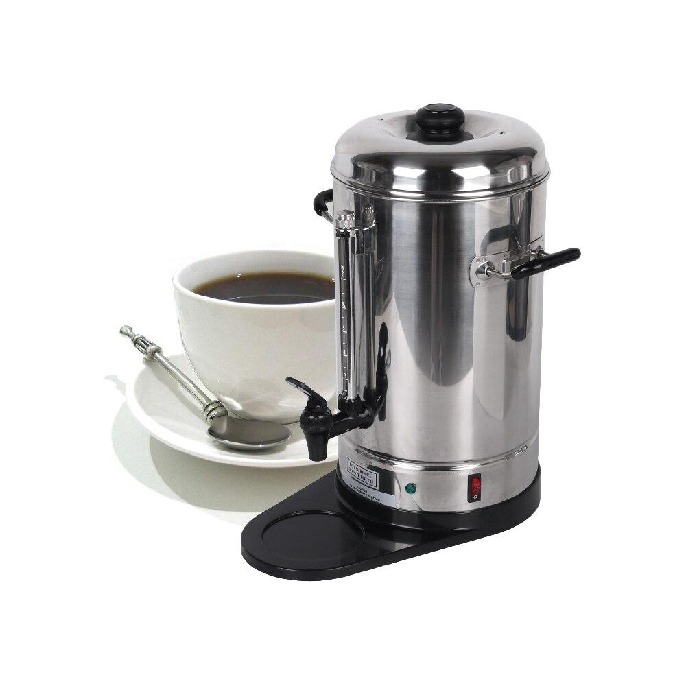 Новое поступление 6L Нержавеющаясталь Кофе фильтр машины создателя коммерческих Кофе процессоры для вечерние бар