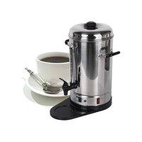 Chegada nova 6l aço inoxidável máquina do fabricante de filtro café comercial processadores café para festa barra