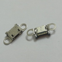100ピース/ロット、オリジナル新しいusb充電器充電コネクタプラグドックポート用サムスンギャラクシーs6 G920F g920 G920P G920V G9250 G925F