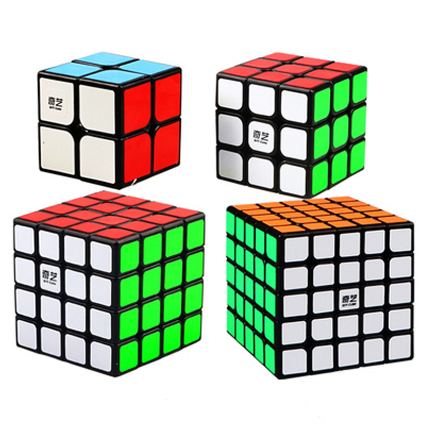 QIYI Professional Cube 3X3 4X4 Neo Cubo Puzzle Speed Mirror Magic Cube Metal Learning Education Children Grownups Cubic Ruby Toy