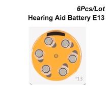 אבץ אוויר כפתור תא 13 1.4V כתום Tab סיוע הסוללה כוח e13 מחליף 13A 13 הרשות A13 AC13 DA13 P13 PR13 PR48 PZ13 ZA13