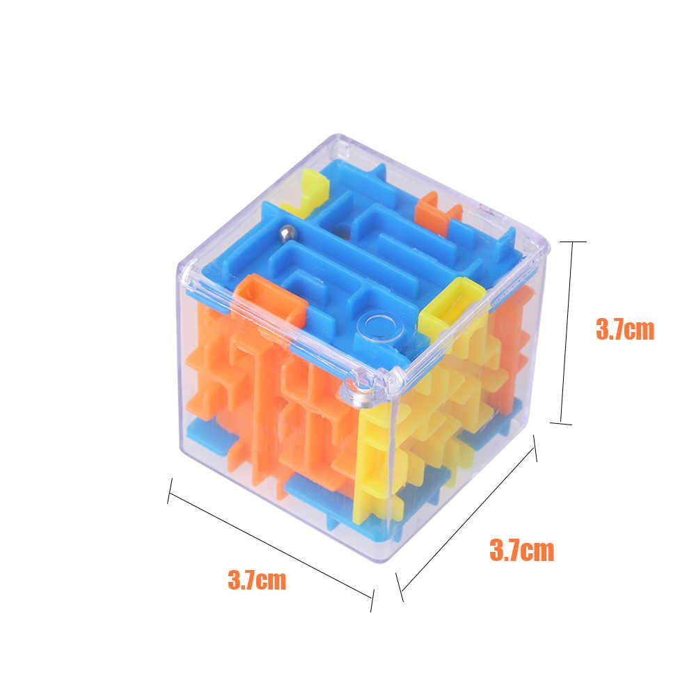 Магический 3d лабиринт магический куб лабиринт крутящиеся игрушки Fro дети лабиринт-Головоломка мяч Детская игра-головоломка детский Рождественский подарок
