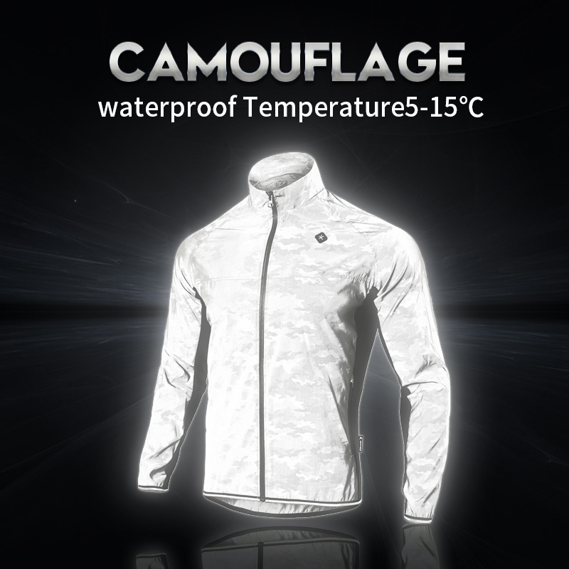 DONEN Outdoor Reflective Waterproof Cycling Jersey Spring Summer Bike Bicycle Long Sleeves MTB Clothing Shirts Wear