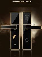 SMT8505 smart IC card door lock hotel/apartment/office electromagnetic induction door lock gold/silver/purple bronze optional