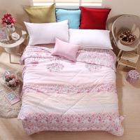 Summer Airconditioning Soft Quilt Duvet Blankets Throw Twin Full Queen Size Textiles Supplier