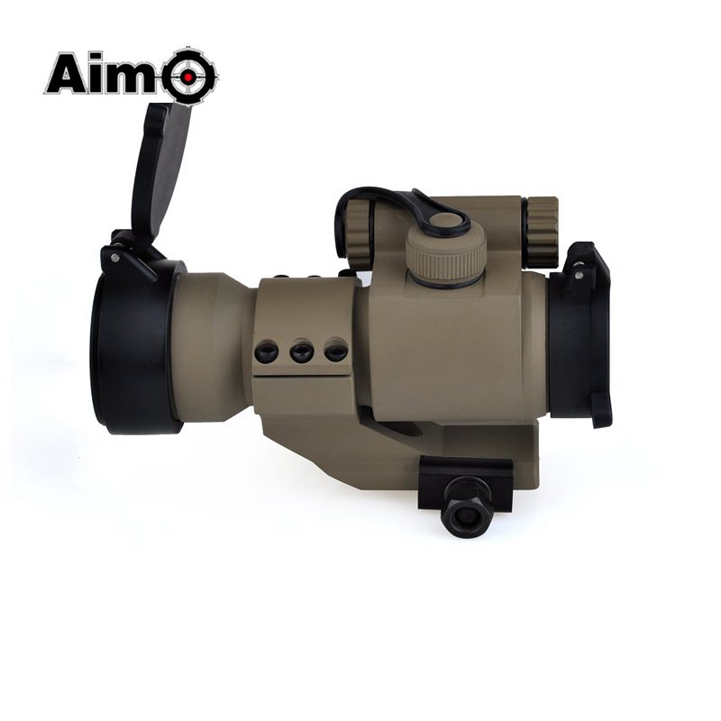 Aim-O Hunting Aiming Red Green Dot Riflescopes 32mm M2 Laser Aluminum Gun Sight with Reflex Scope for Picatinny AO5033 welder machine plasma cutter welder mask for welder machine