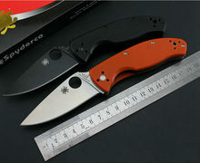 New Folding Knife 7Cr13 Blade Pocket Survival Knives Hunting Tactical Knifes G10 Handle Camping Outdoor Tools C122GS