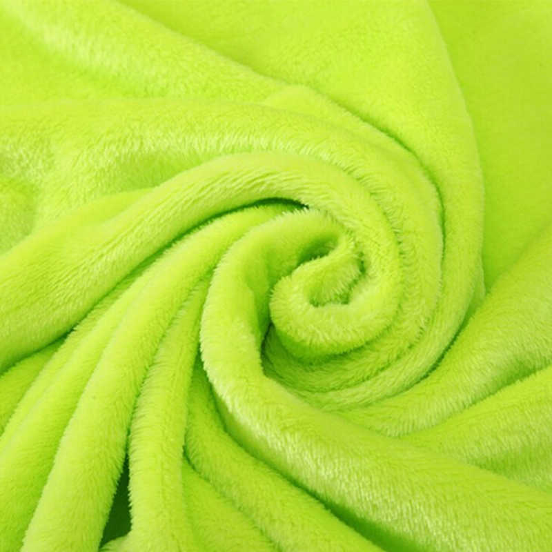 1 pc Carrinho de Bebê Blan Flanela Fleece Swaddle Infantil Cochilo Receber Envoltório Para O Fundamento Do Bebê Recém-nascido Cobertores 50*70 cm