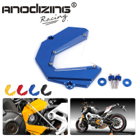 CNC Motorcycle Accessories Left Engine Front Sprocket Chain Guard Protection Cover For Yamaha MT 09 MT09