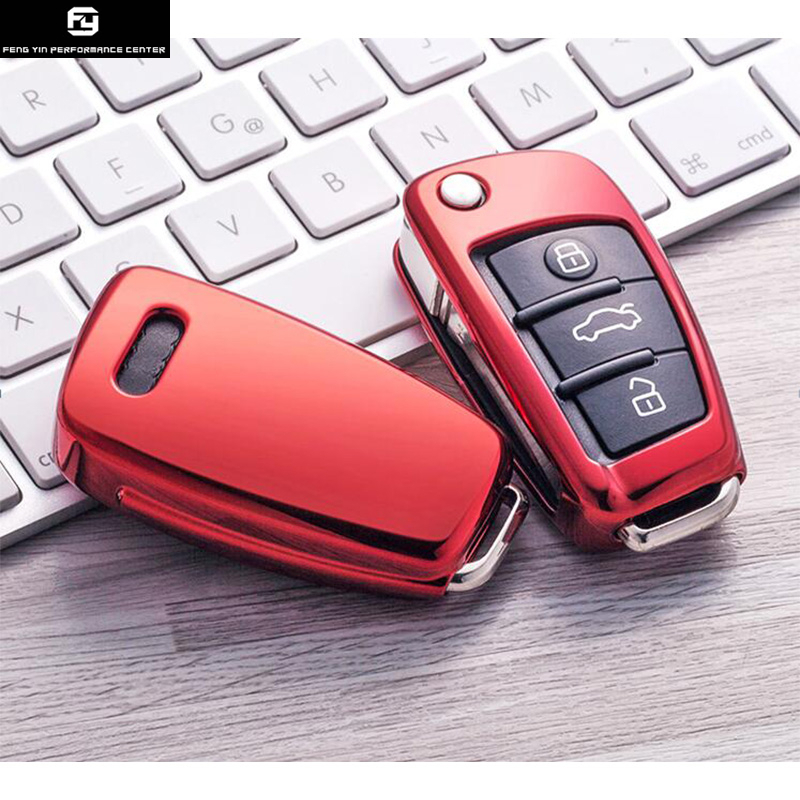 Hot Sell TPU Car Key Cover Case For Audi A4 A5 A6 A7 Q5 Q7