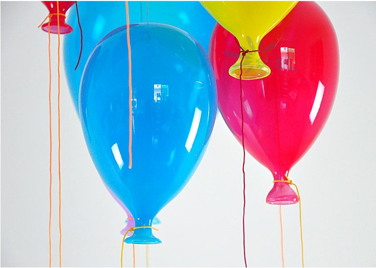 Модная современная светодиодная детская спальня красочная подвеска в виде шара светильник разноцветный стеклянный шар для столовой лестничный светильник - 5