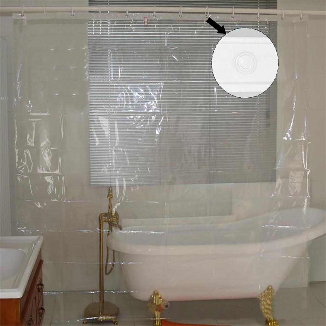Transparent mehltau proofing Dusche Vorhang Wasserdicht Bad Vorhang Bad  Produkte Hause Handelswaren