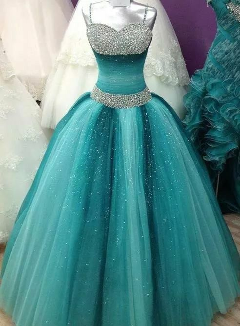 IM061 Quinceanera Dresses 2016 Sweetheart Spaghetti Ball Gown Prom ...