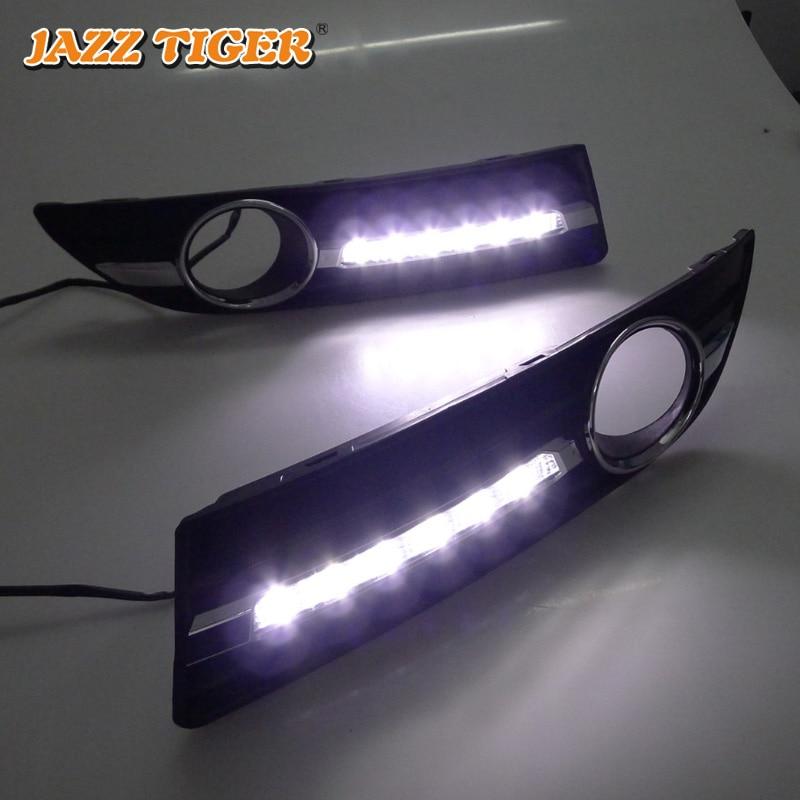 JAZZ TIGER 2kom Super automobilska svjetlost DRL lampica 12V dnevno - Svjetla automobila - Foto 4
